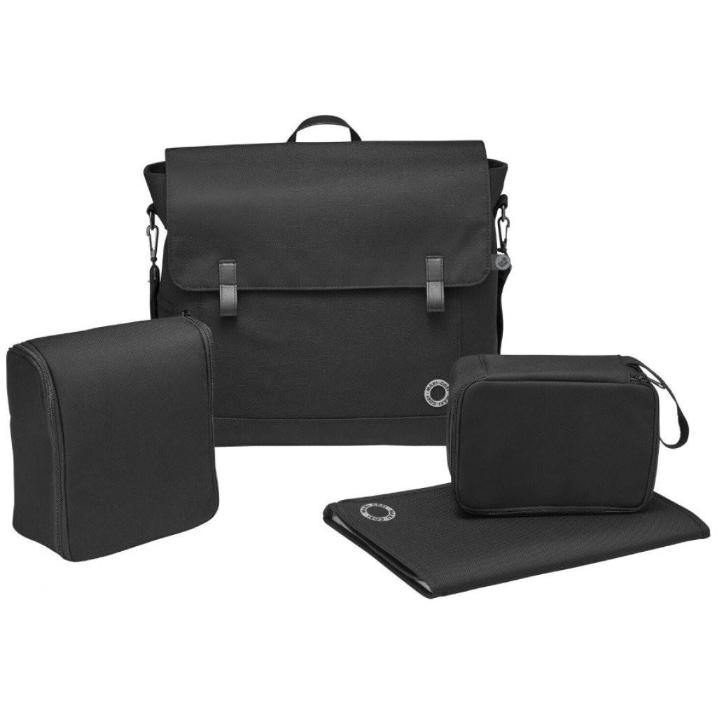Image of Luiertas Maxi-Cosi Modern Bag Essential Black