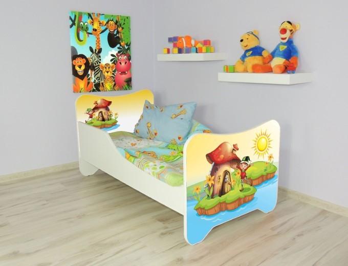Peuterbed Top Beds Happy 140x70 Elf Inclusief Matras