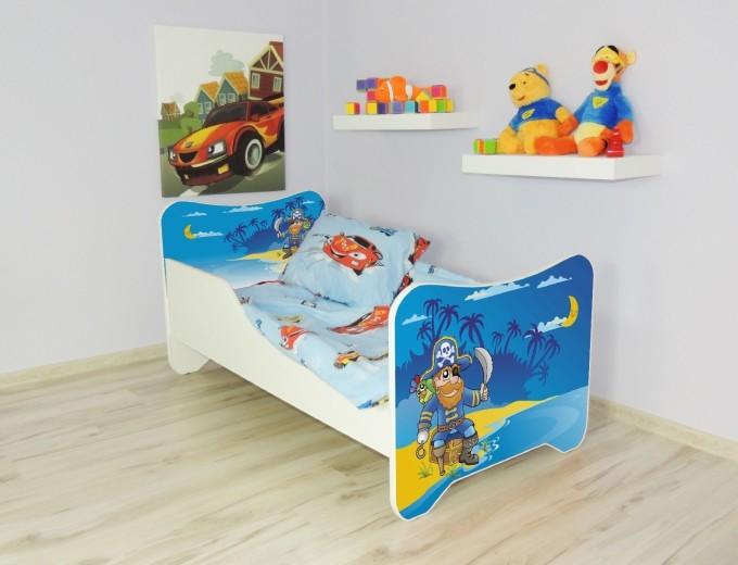 Peuterbed Top Beds Happy 140x70 Piraat Inclusief Matras