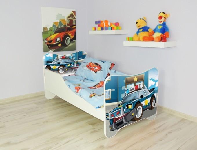 Peuterbed Top Beds Happy 140x70 Politie Inclusief Matras