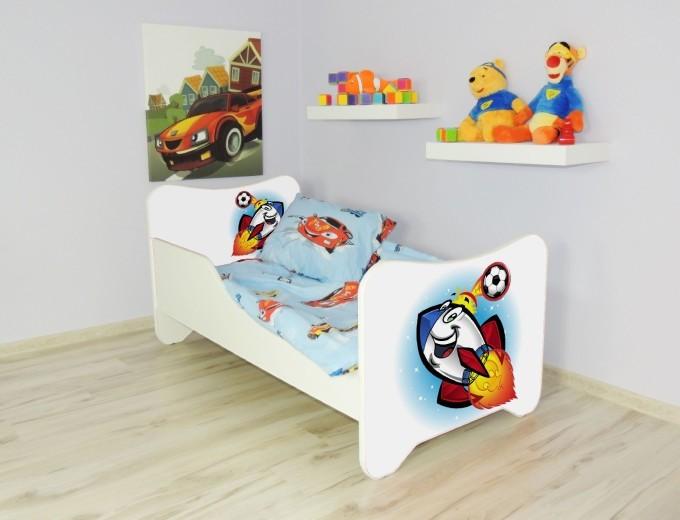 Peuterbed Top Beds Happy 140x70 Raket Inclusief Matras