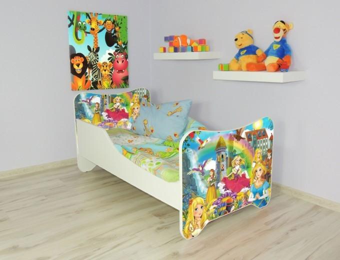 Peuterbed Top Beds Happy 140x70 Sprookje Inclusief Matras