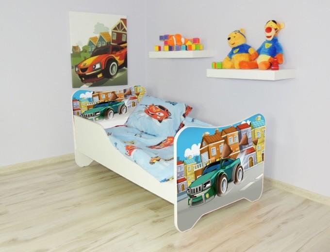 Peuterbed Top Beds Happy 140x70 Super Car Inclusief Matras