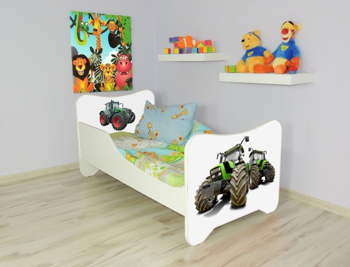 Peuterbed Top Beds Happy 140x70 Tractor Inclusief Matras