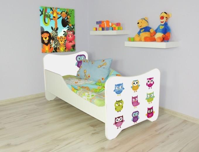 Peuterbed Top Beds Happy 140x70 Uiltjes Inclusief Matras