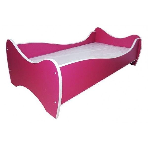 Kleuterbed Top Beds Midi Color 160x80 Fuchsia Incl. Matras