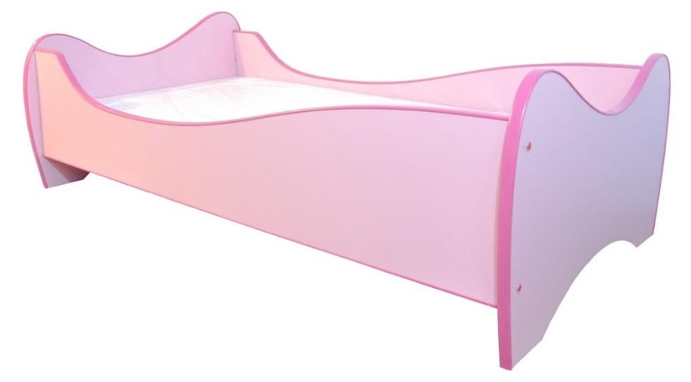 Peuterbed Top Beds Midi Color 70x140 Roze Inclusief Matras